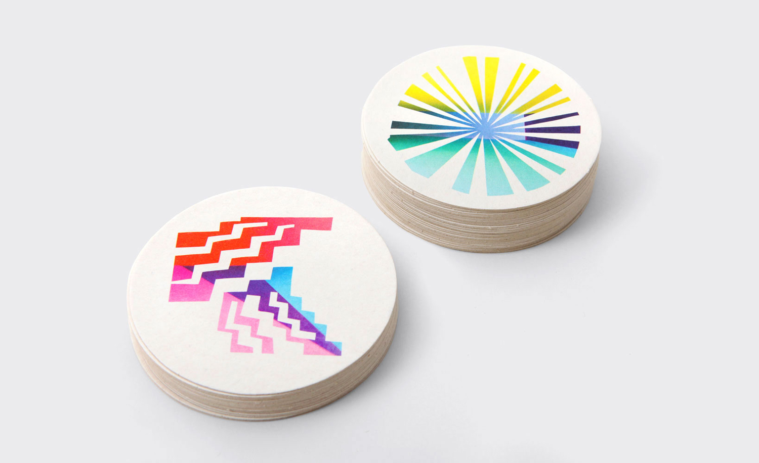 Brand identity and illustrated coasters by New York design studio Triboro for Brooklyn cafe and bar Sauvage