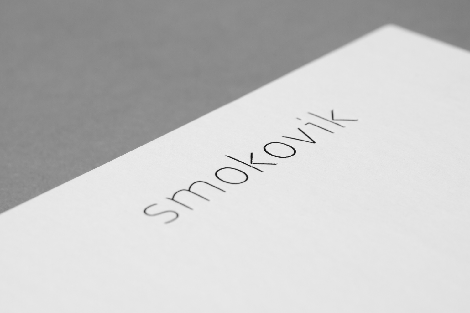 Branding by Studio8585 for Croatian property development Smokovik