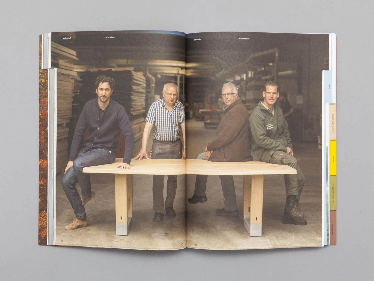 Brand identity and 2016 catalogue for furniture manufacturer Arco by Raw Color, The Netherlands
