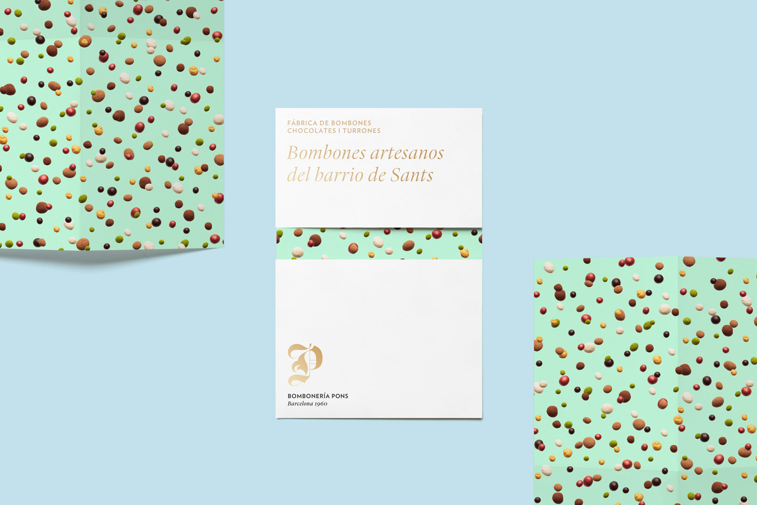 Brochure for Bomboneria Pons by Mucho