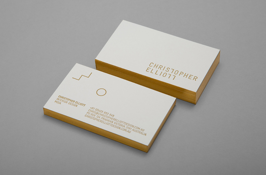 The Best Business Card Designs No 9 — BP&O
