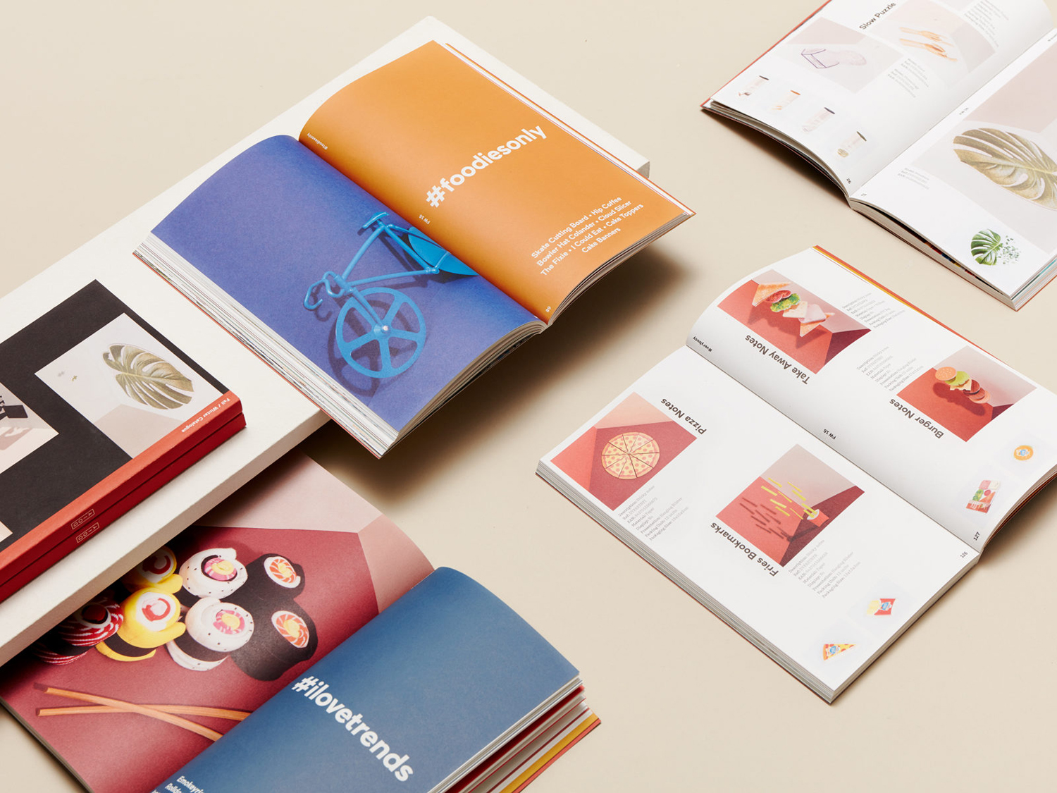 Art direction and brochure by Barcelona-based Folch for product design company DOIY