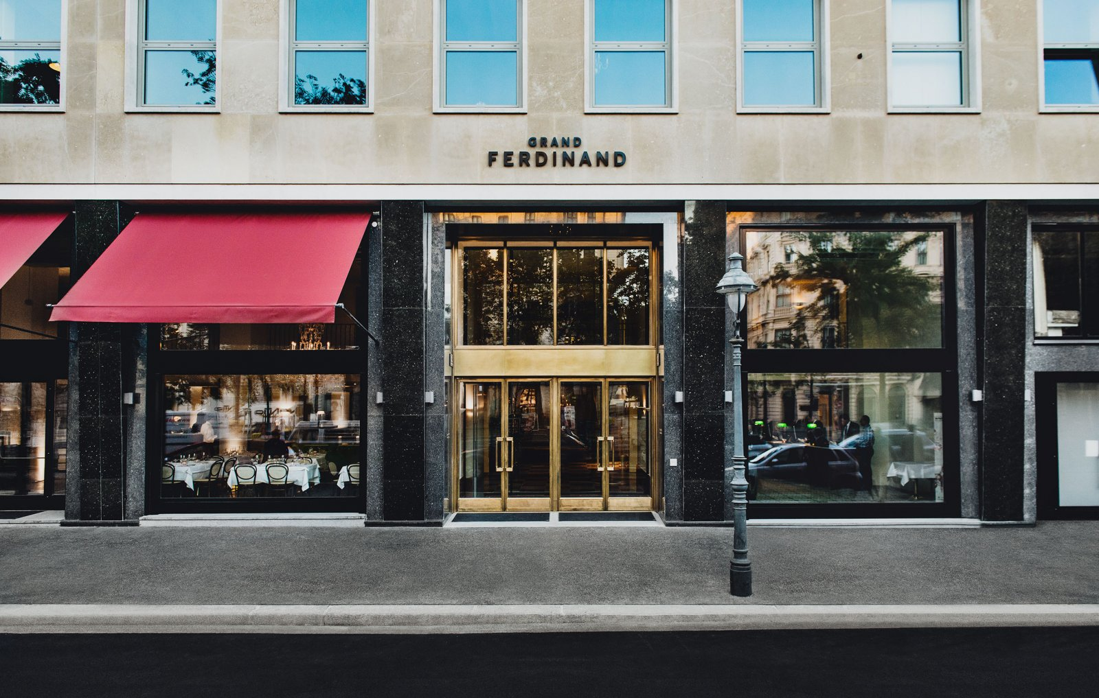 brand identity for grand ferdinand by moodley bp o. Black Bedroom Furniture Sets. Home Design Ideas