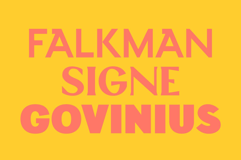 Custom typography by Finnish studio Werklig for Helsinki City Museum