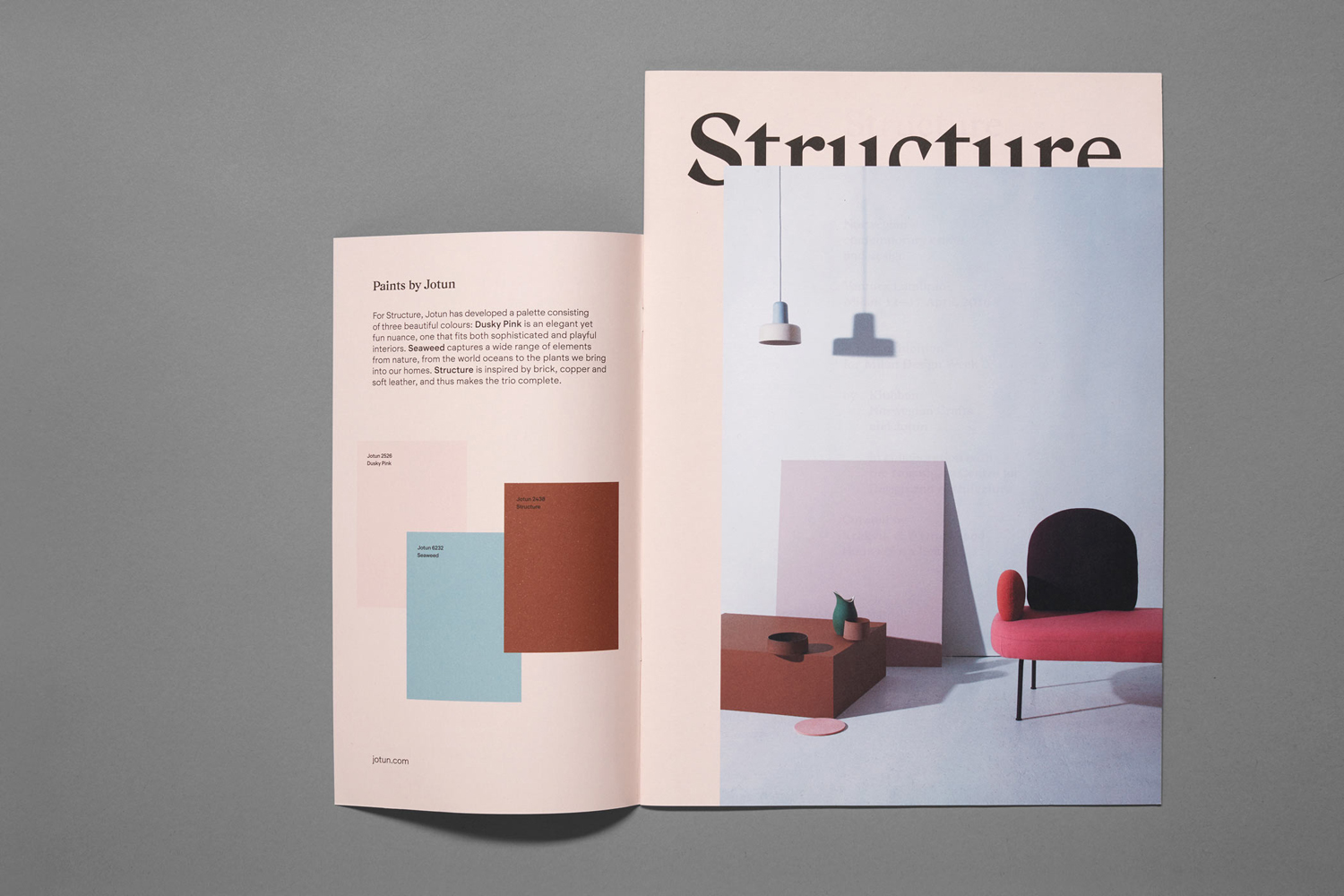 Logo, branding and print by Oslo-based studio Bielke & Yang for contemporary crafts and design exhibition Norwegian Structure