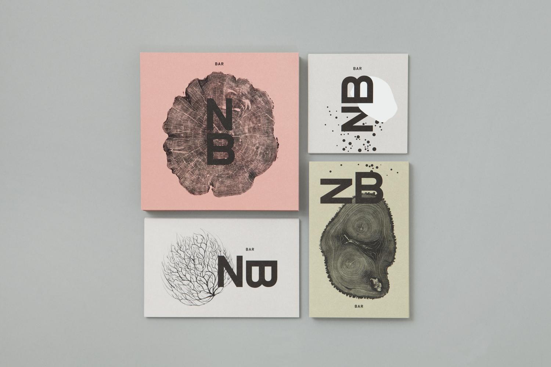 Brand identity and stationery for Toronto restaurant Nota Bene by graphic design studio Blok, Canada