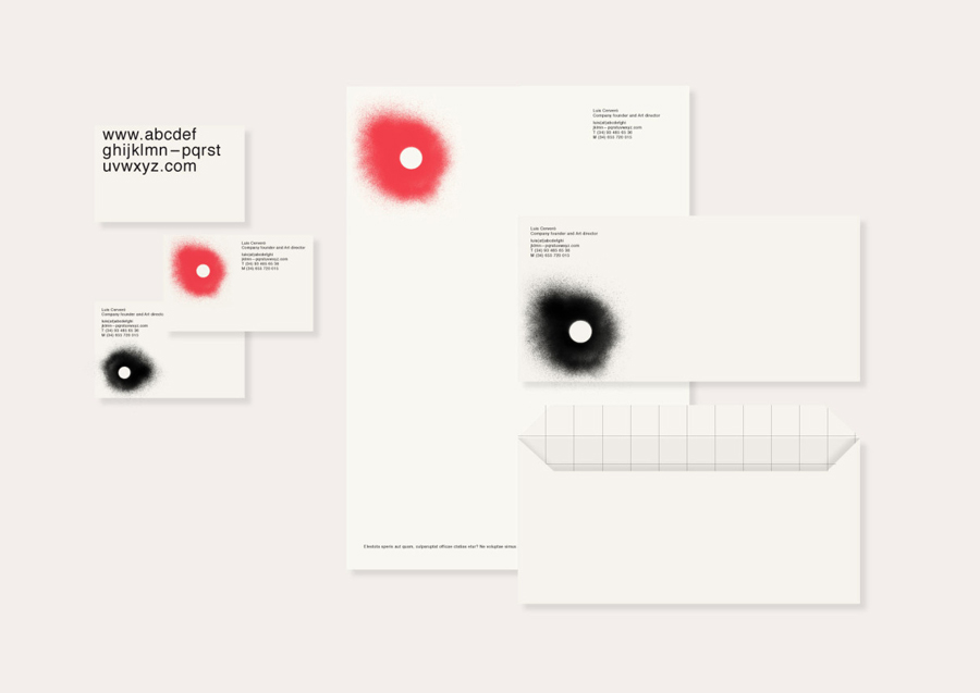 Stationery by Folch for Barcelona based visual communications business O