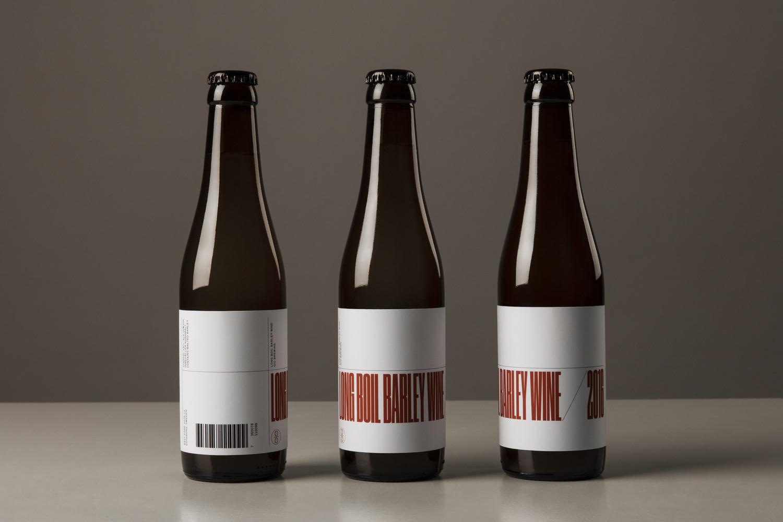 Scandinavian Craft Beer Packaging Design – O/O Long Boil Barley Wine by Lundgren+Lindqvist, Sweden