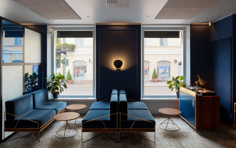 Branding & Interior Design – Roster by Bond, Finland