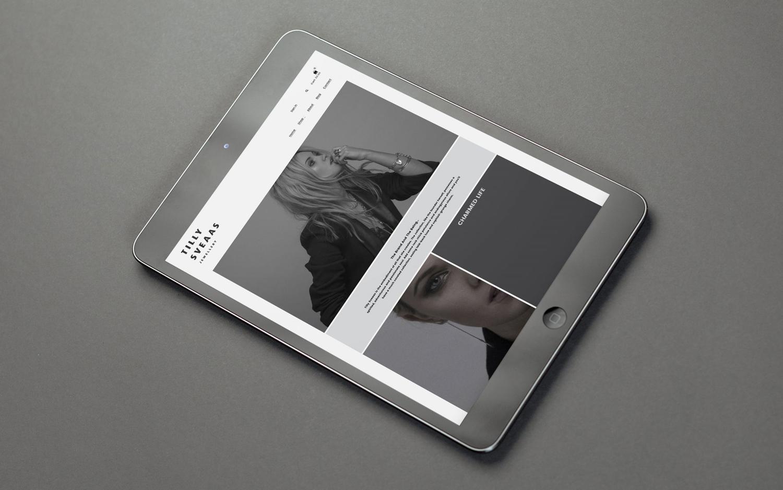 Brand identity by Bond for London-based Tilly Sveaas Jewellery