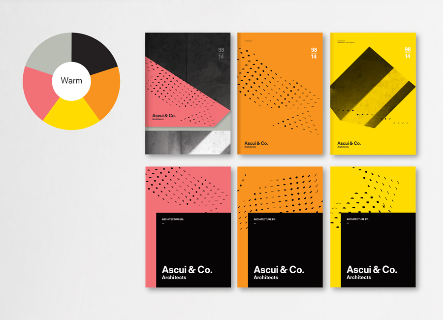 Print work by Grosz Co. Lab for architectural practice Ascui & Co.