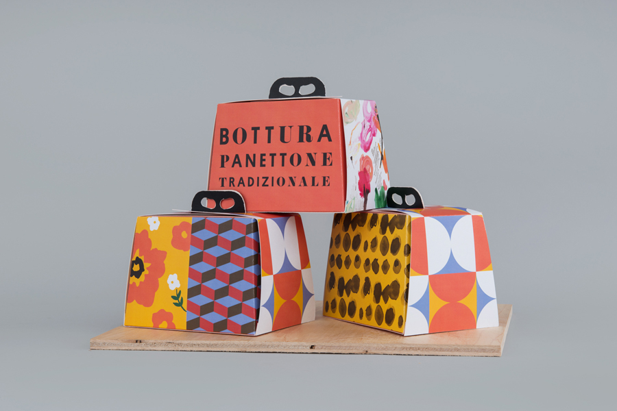 Branding for Singapore based Italian restaurant Bottura by graphic design studio Foreign Policy