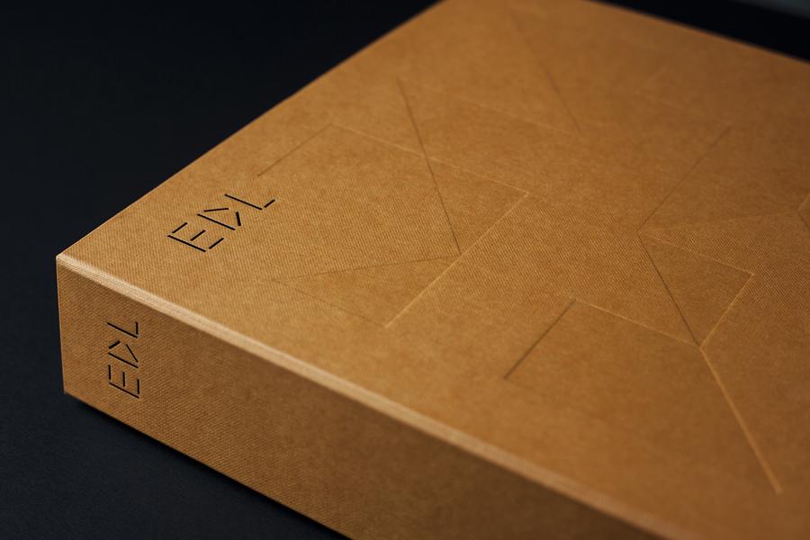 Branding for high pressure laminate distributor EDL by graphic design studio Bravo.