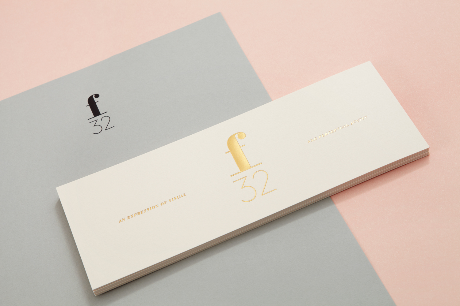 Brand identity and block foiled stationery by Blok for LA based trend-watching company f32