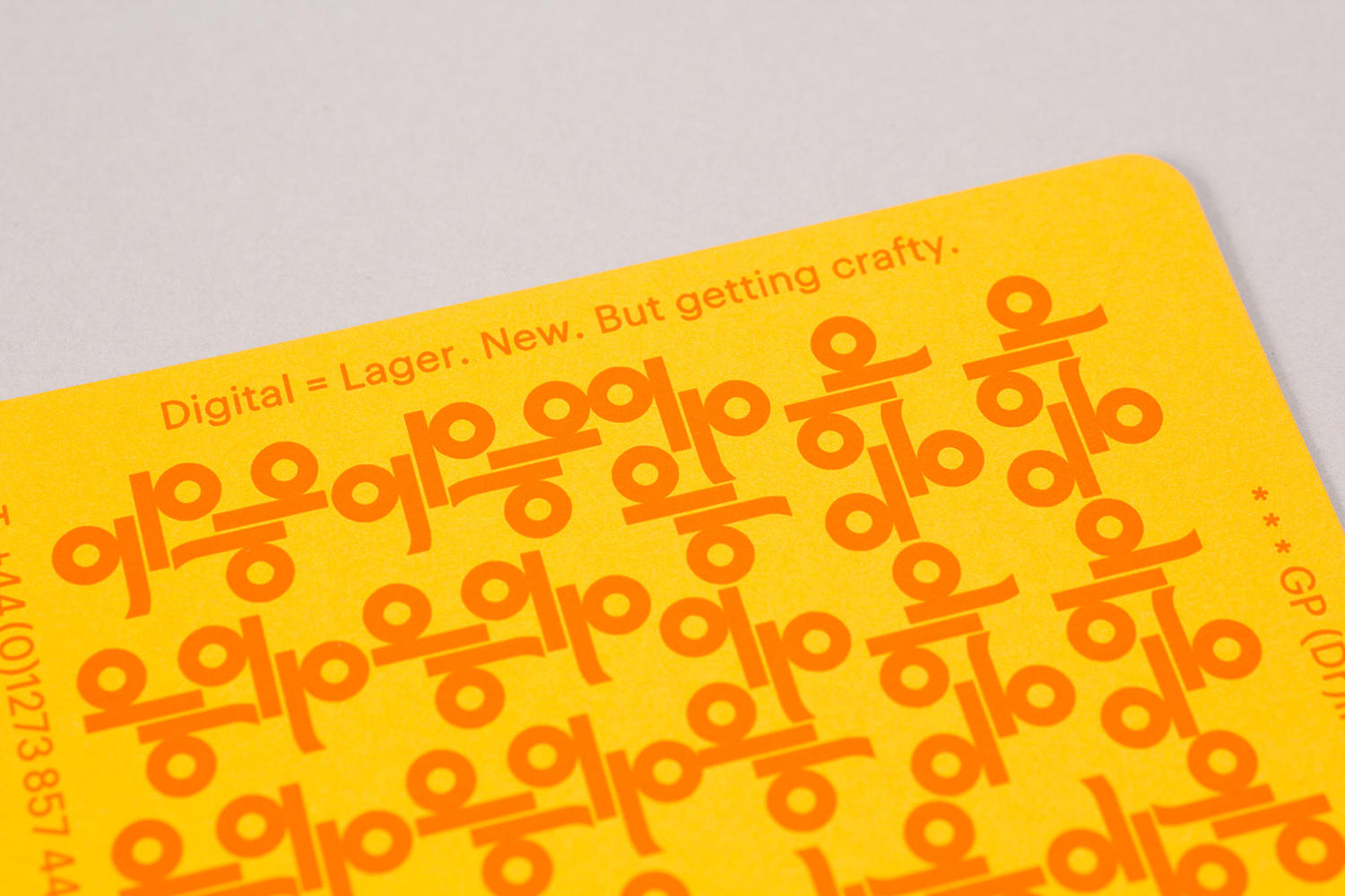 Generation Press Mail Campaign – Coasters by Build