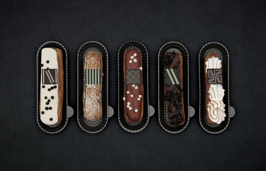 branded pastry designed by lg2boutique for Quebec City delicatessen Nourcy