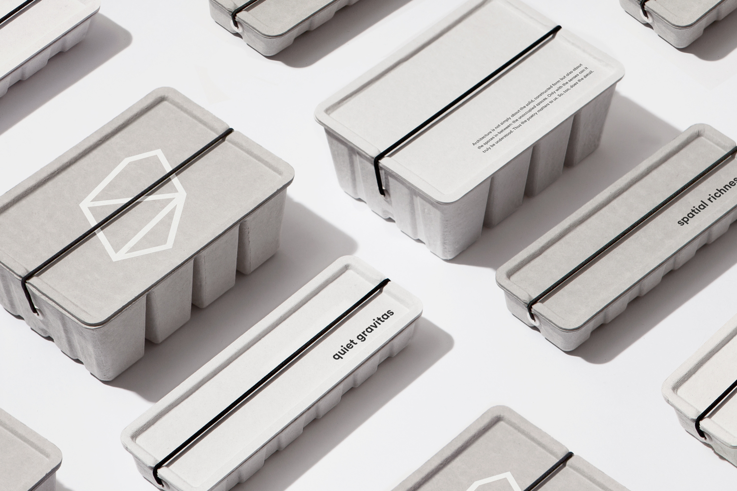 Brand identity and packaging by Toronto-based graphic design studio Blok for Canadian architecture firm Superkül