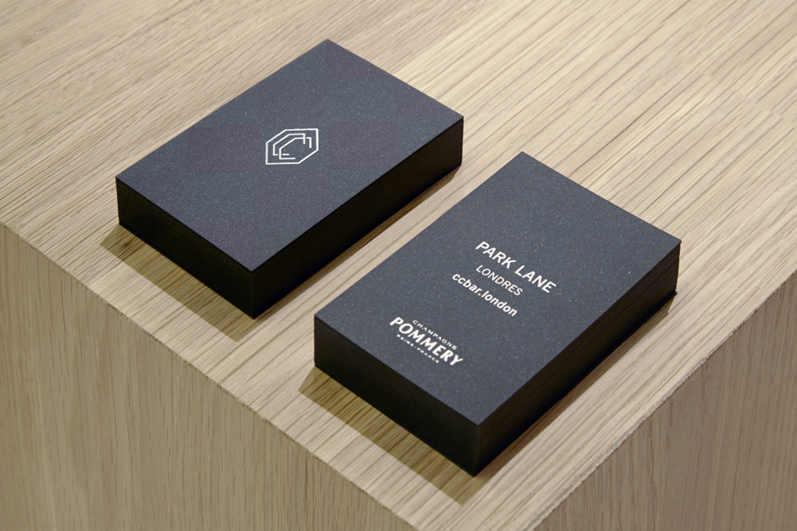 Business cards for CC Bar by Freytag Anderson