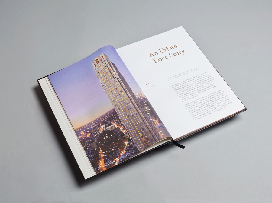 Brochure for Four Seasons private residence Thirty Park Place designed by Mother