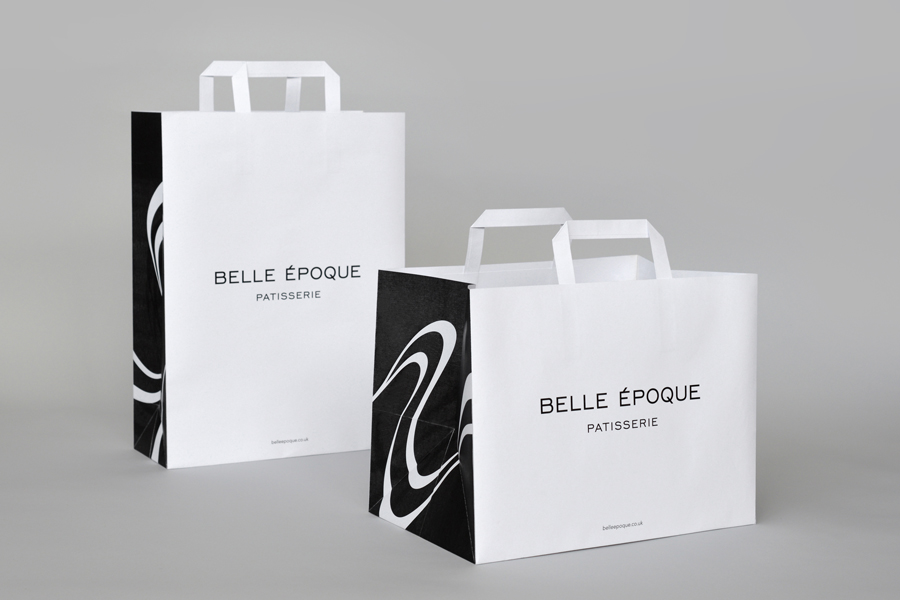 Bags for French Patisserie Belle Epoque by Mind Design