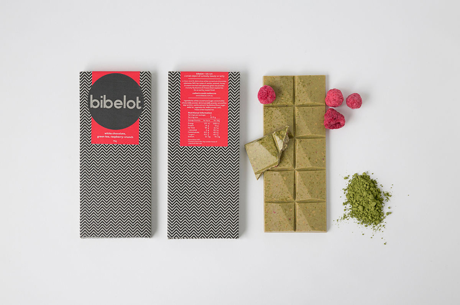 Visual identity and packaging for Melbourne patisserie Bibelot designed by A Friend Of Mine