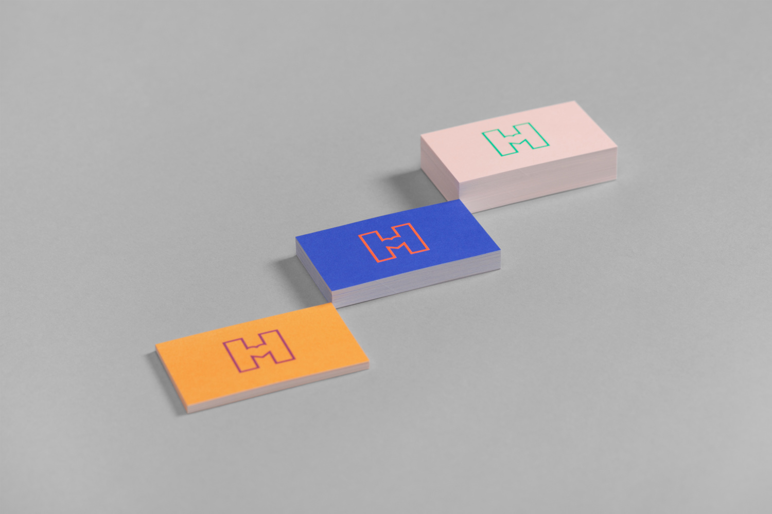 Logo and business cards by Finnish graphic design studio Werklig for Helsinki City Museum