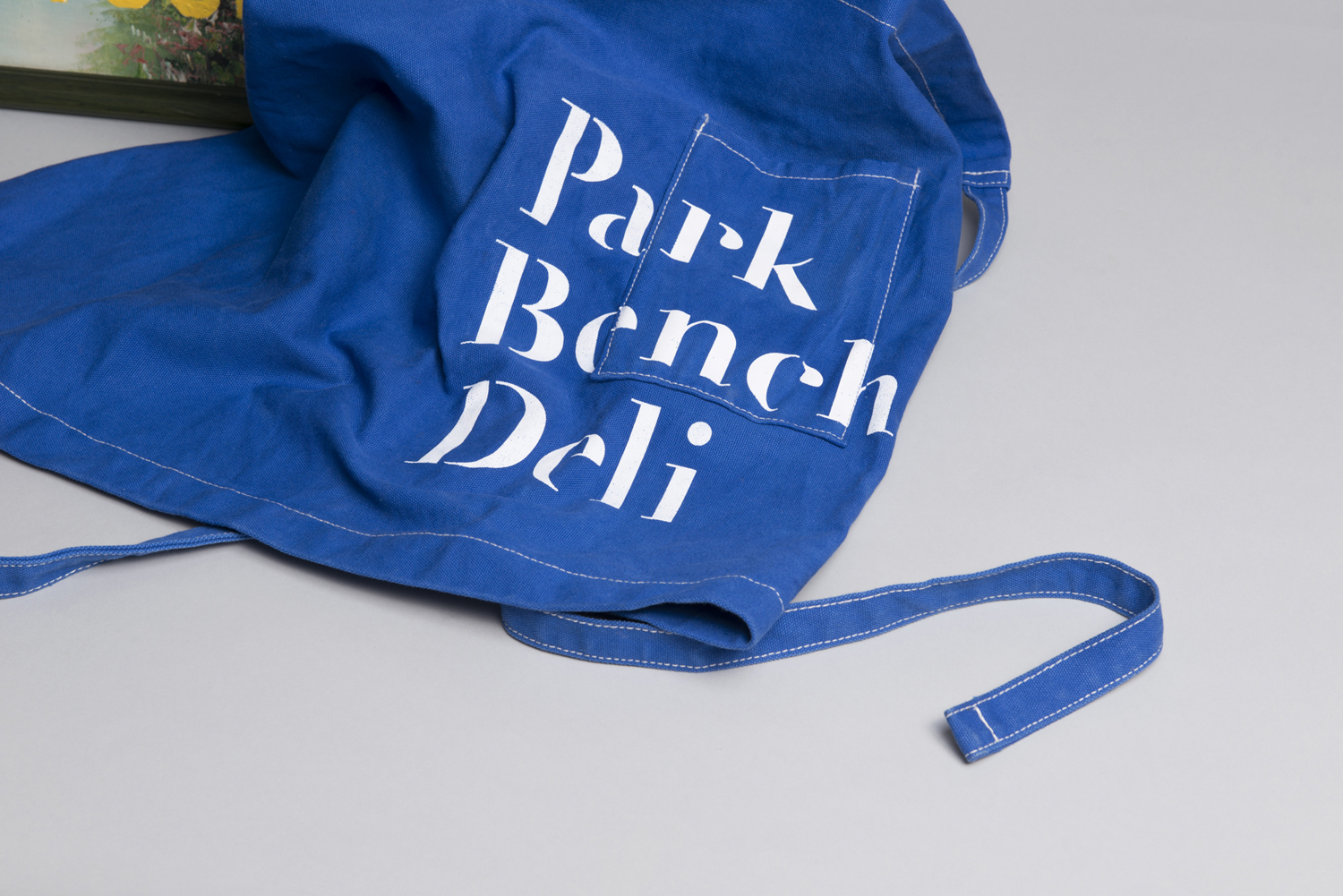 Blue apron singapore - Branded Apron By Foreign Policy For Singapore S Park Bench Deli