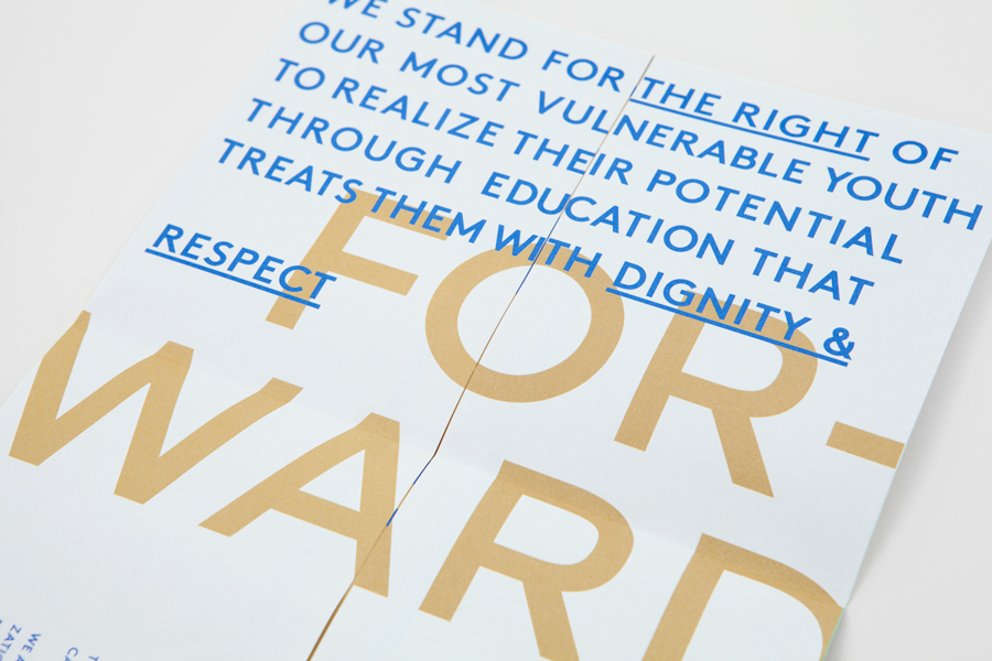 Poster design by Blok for LA based education program and organisation the Coalition for Engaged Education (CEE)