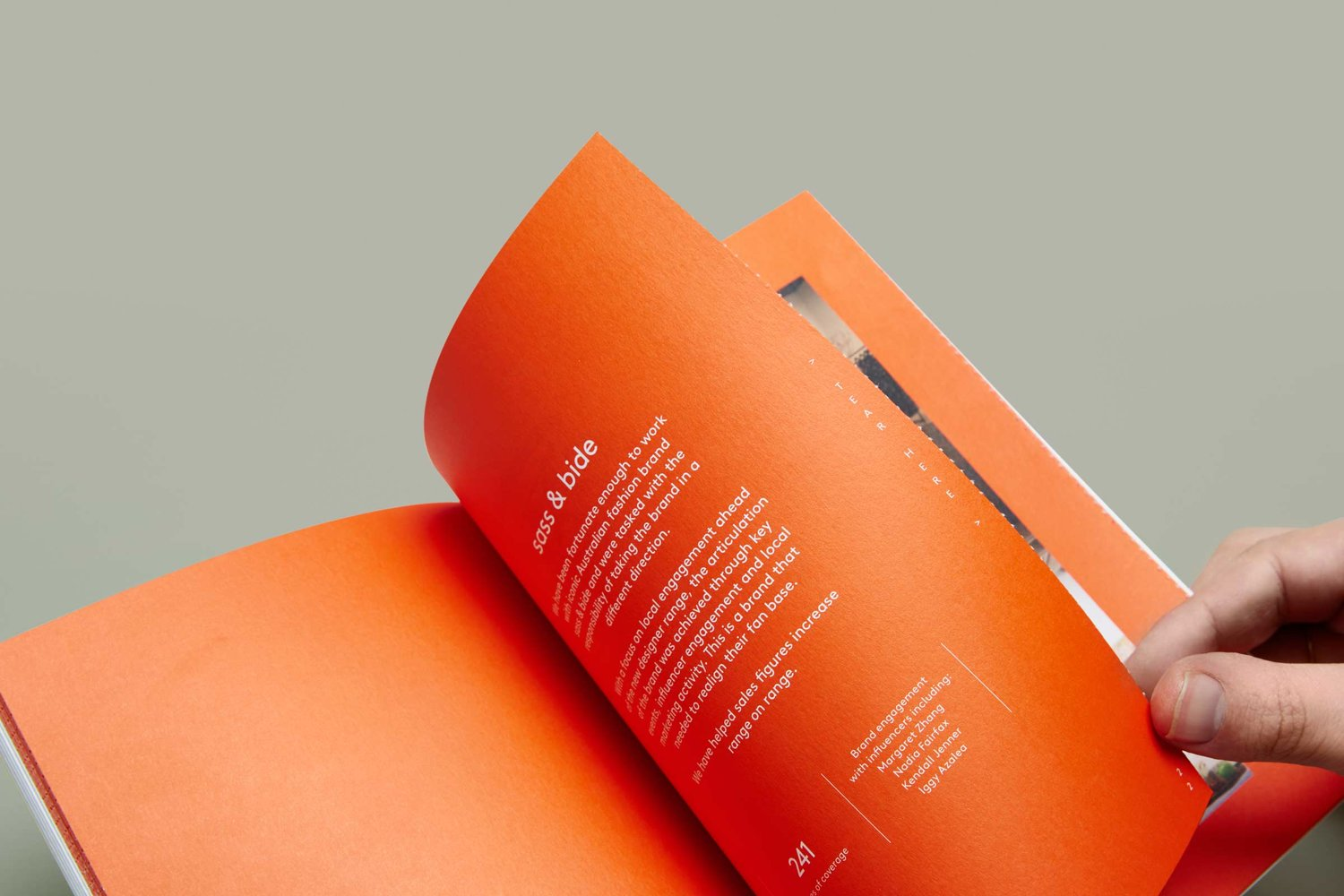 Brand identity and brochure for Sydney-based PR firm Hidden Characters by RE, Australia