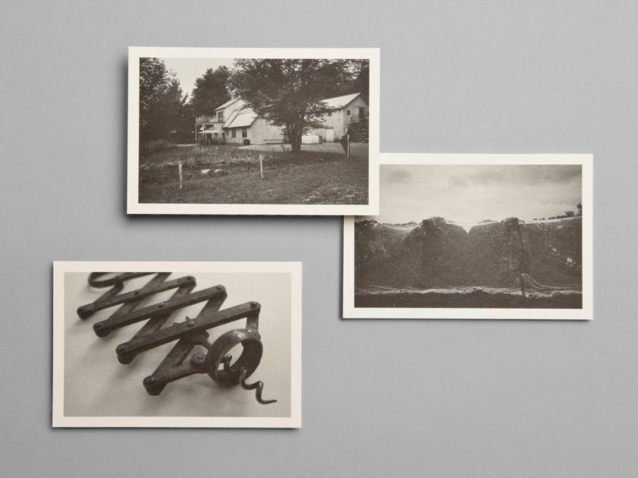 Postcards for wine producer Léon Courville Vigneron by lg2 boutique