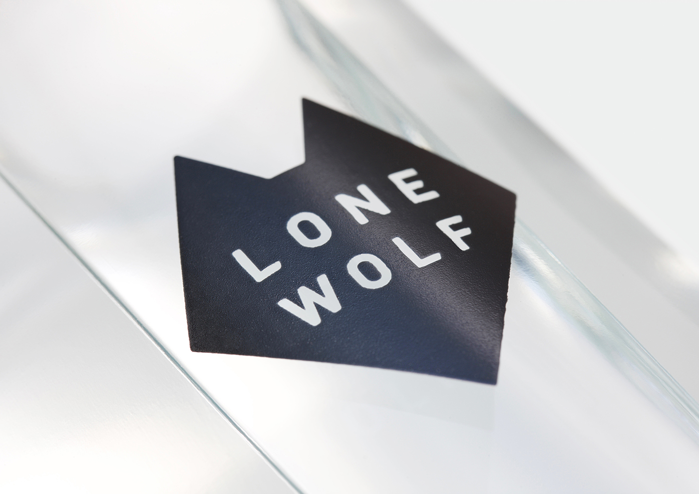 Logo and packaging design by London-based B&B Studio for Brewdog's craft spirits range Lone Wolf