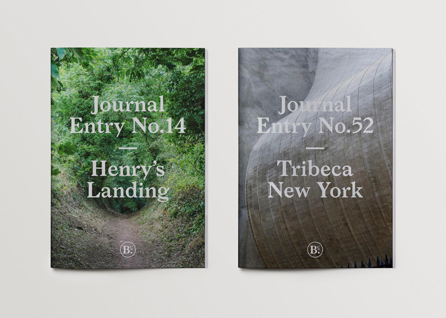 Brand identity and journal covers for Bearleader by Scandinavian graphic designers The Studio
