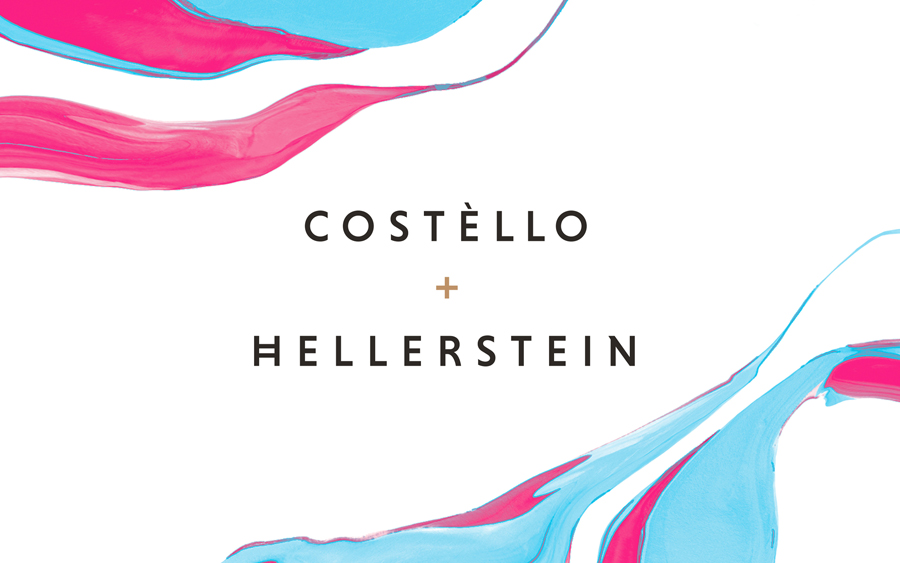 Visual identity by Robot Food for artisanal chocolate truffle business Costello + Hellerstein