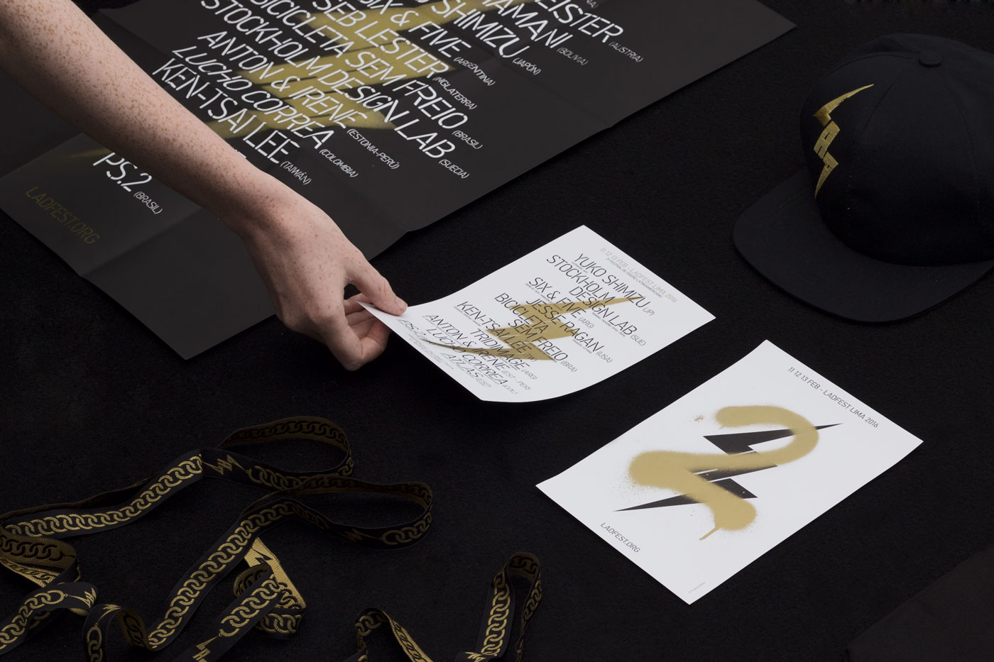 Visual identity and print for Latin American Design Festival 2016 by IS Creative Studio