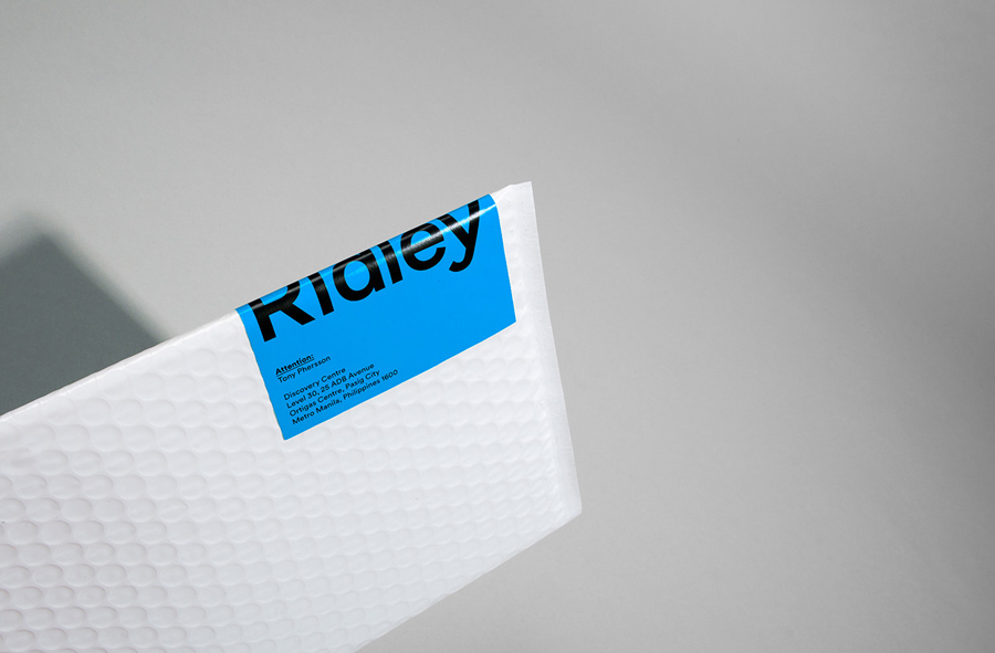 Logotype, stationery and print designed by RE: for digital architecture and documentation service Ridley