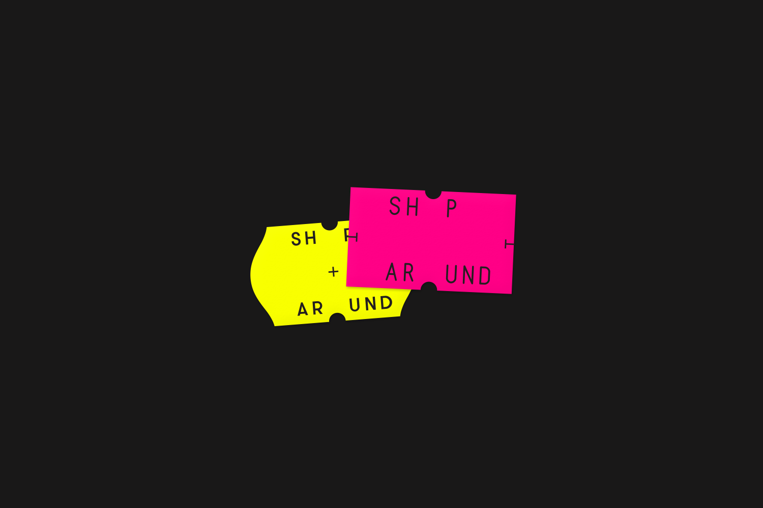 Logo by Toko for New York and Amsterdam-based creative production agency ShopAround