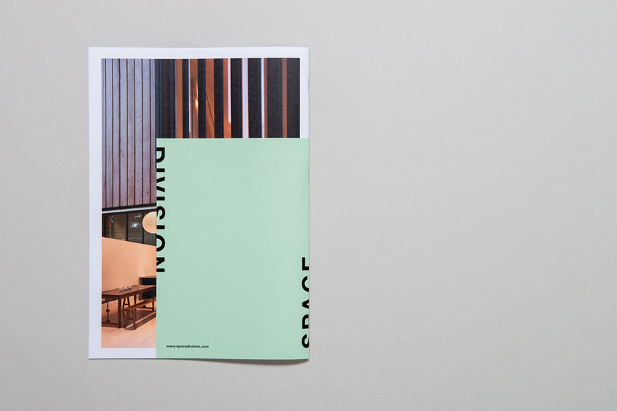 Print designed by In House for award-winning Auckland based architectural practice Space Division