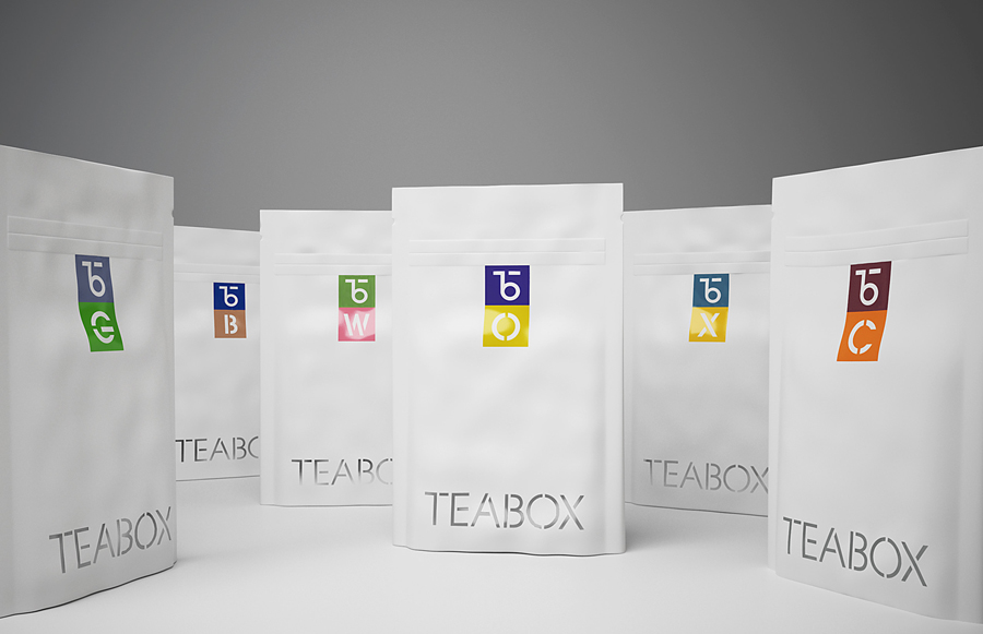 New Brand Identity For Teabox By Pentagram Bp O