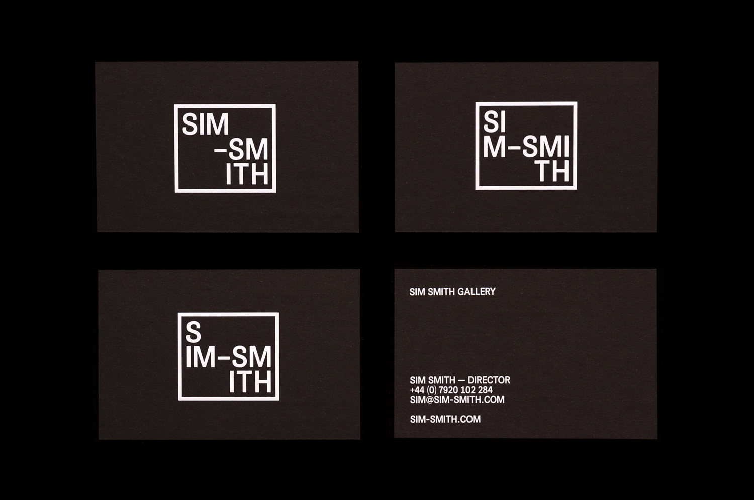 Art Gallery & Exhibition Branding – Sim Smith Gallery by Spin