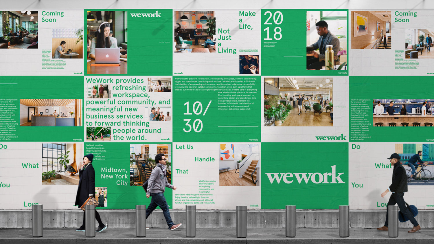 New Brand Identity for WeWork by Gretel — BP&O