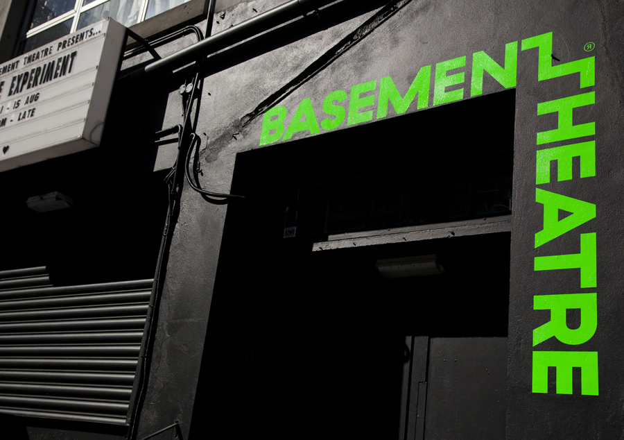 Branding for Basement Theatre by graphic design agency Studio Alexander