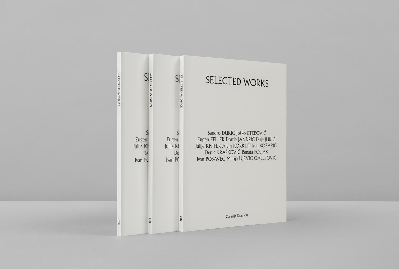 Brand identity and brochure designed by Bunch for Zagreb-based modern art gallery Galerija Kranjčar.