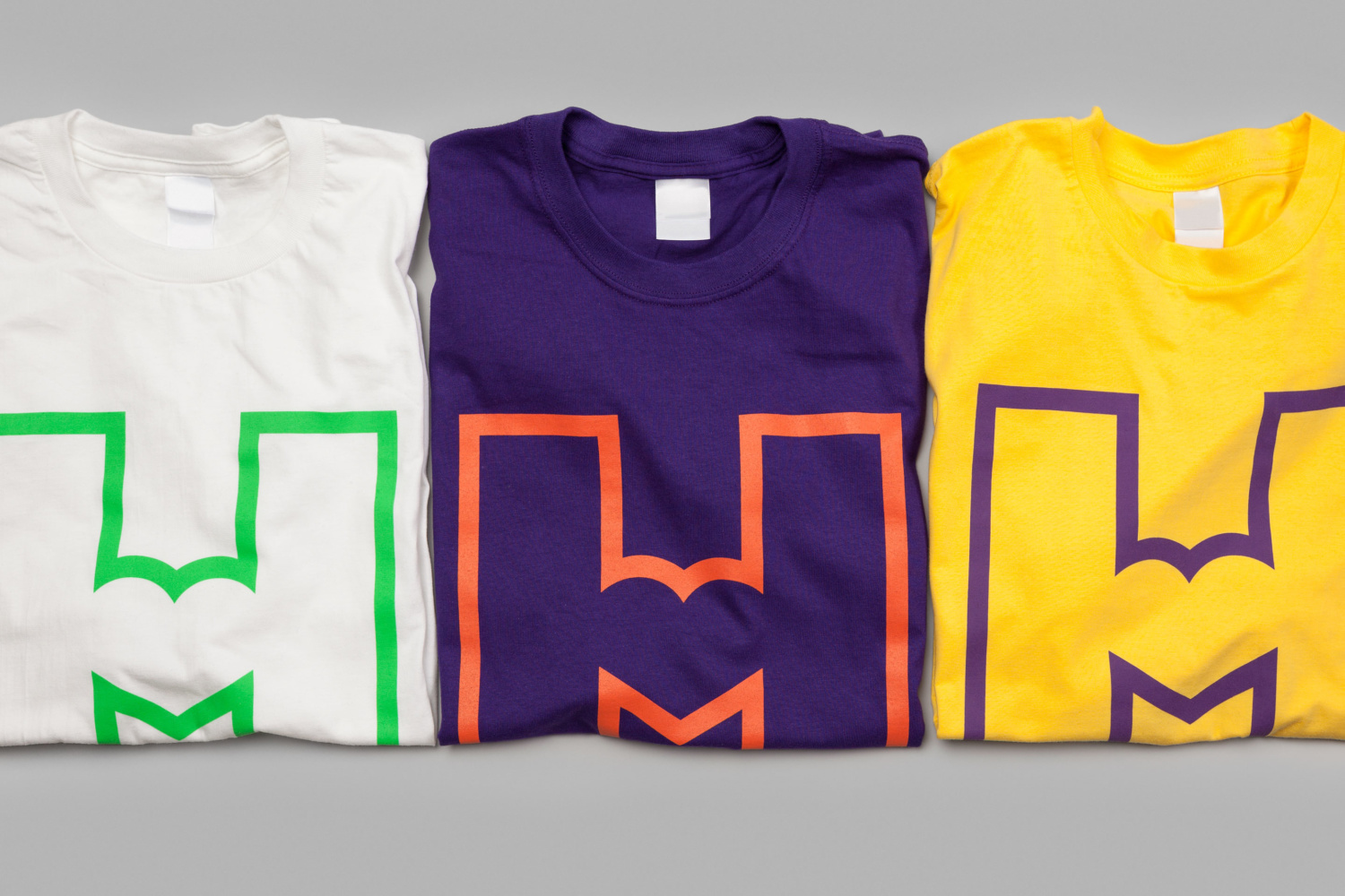 Logo and branded t-shirts by Finnish graphic design studio Werklig for Helsinki City Museum