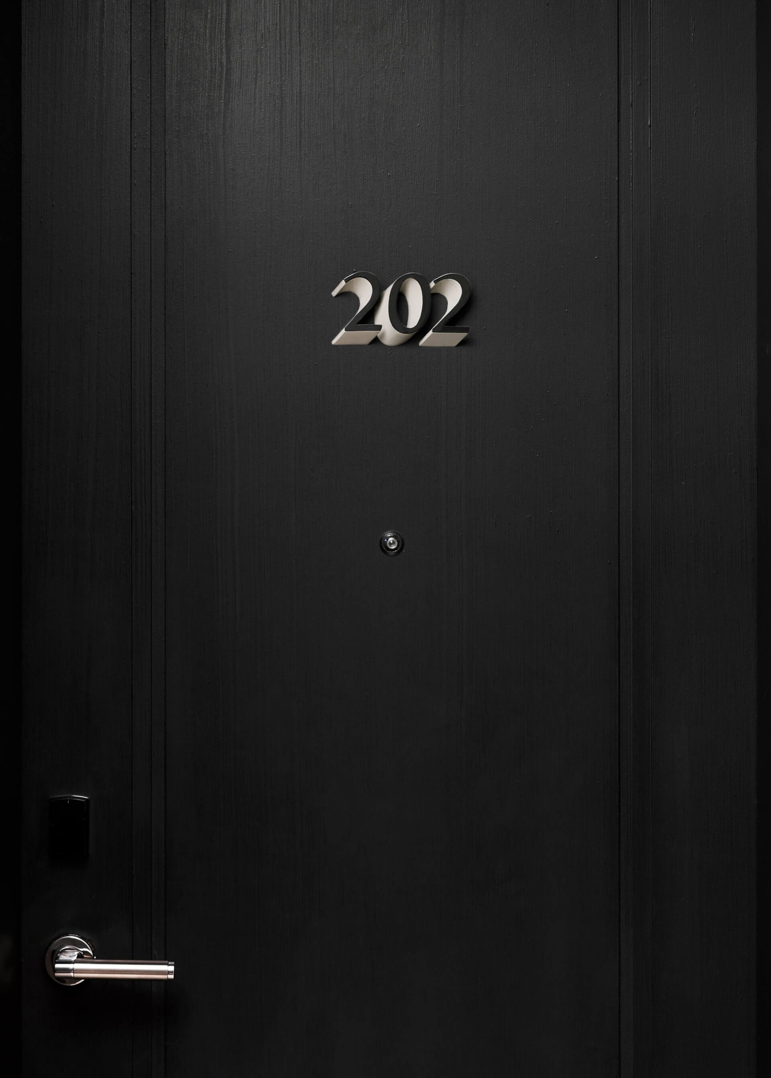 Door numbers designed by Mucho for Spanish 5-star hotel Sant Francesc.