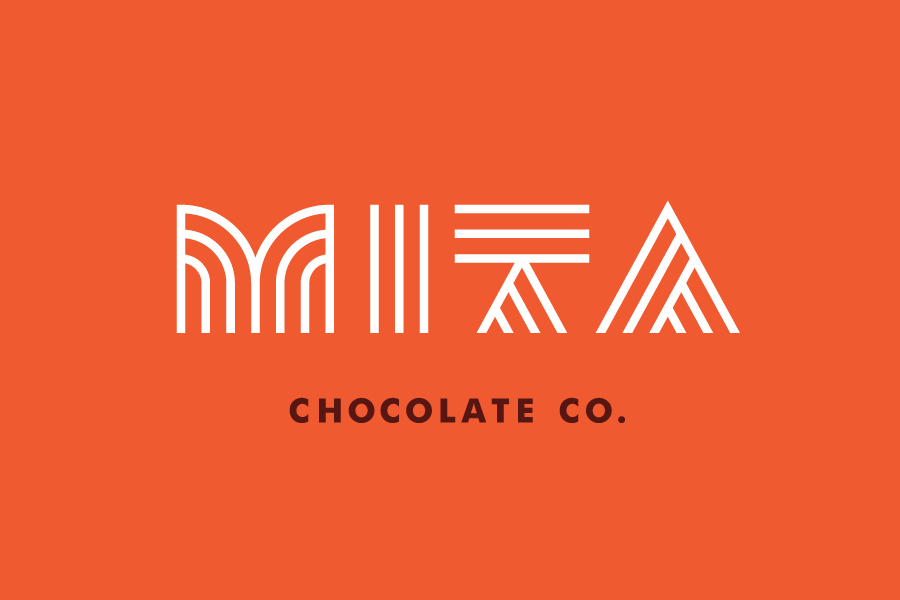 Logo for Mita Chocolate Co. by Moniker, United States