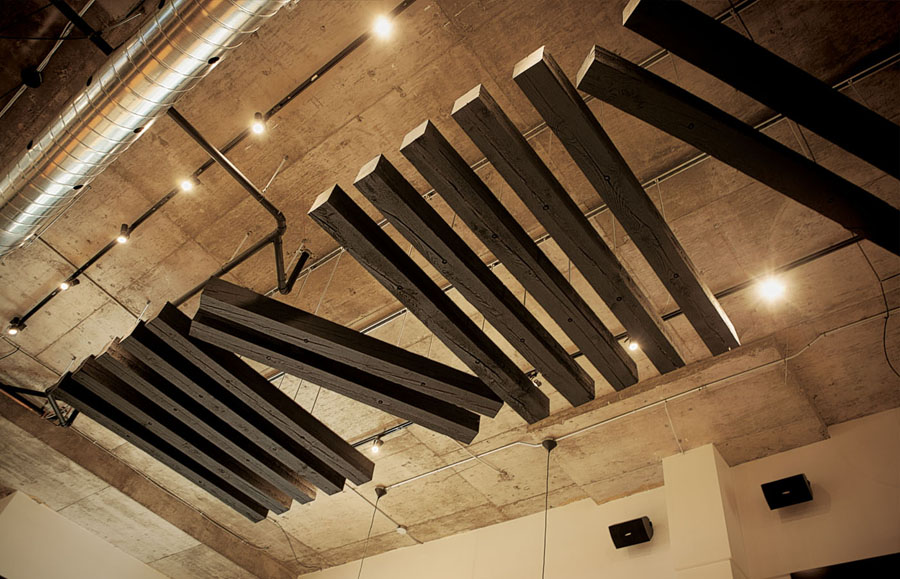 Interior designed by lg2boutique for Quebec City delicatessen Nourcy