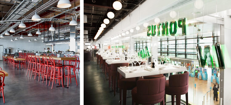 Restaurant interior, Pontus In The Air