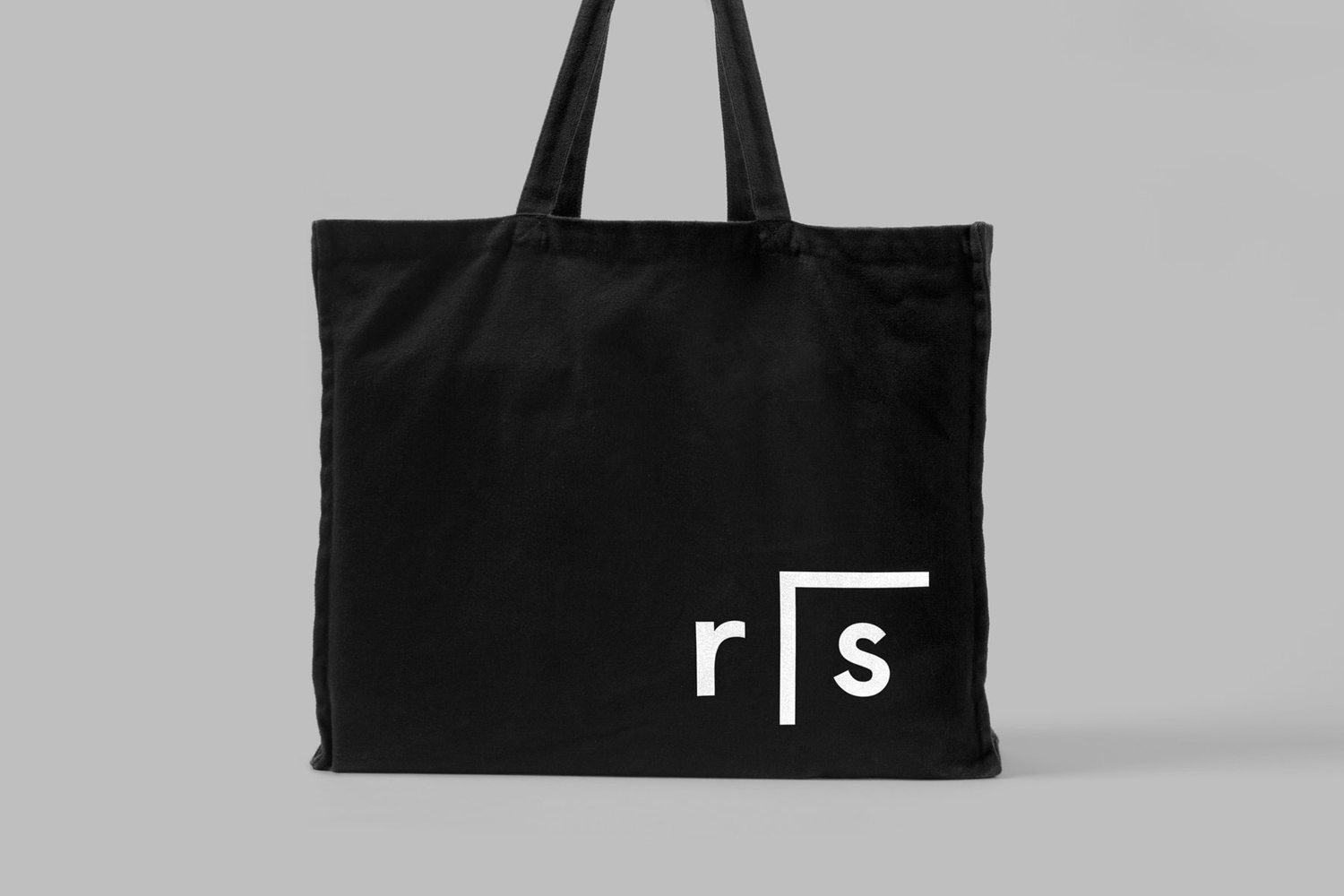 Brand identity and branded tote bag for Researchers In Schools by Paul Belford Ltd.