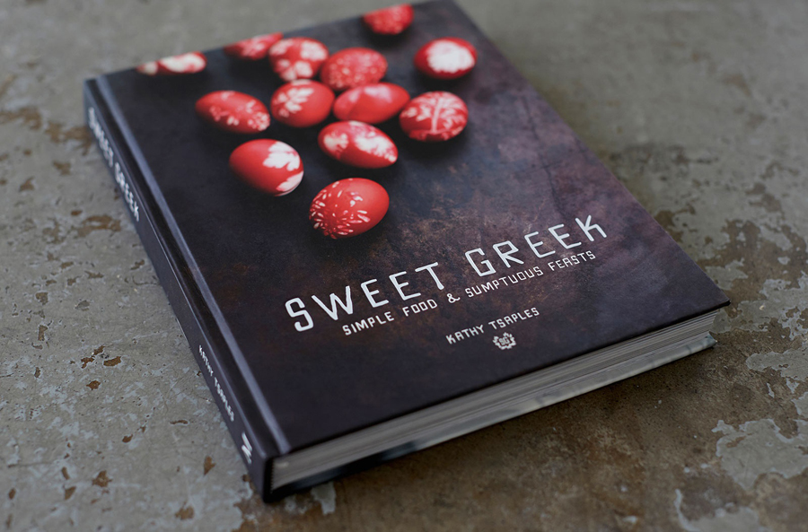 Book for Melbourne food store Sweet Greek designed by Studio Bravo