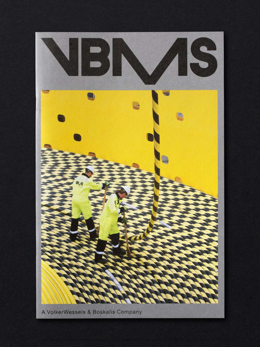 Logotype and print by Studio Dumbar for VBMS